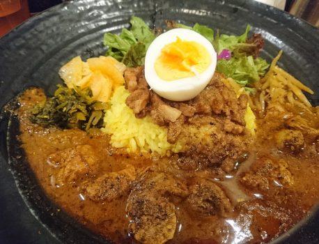 No.035 SPICY CURRY 魯珈 の『ろかプレート』の美味しさにマジ感動!!