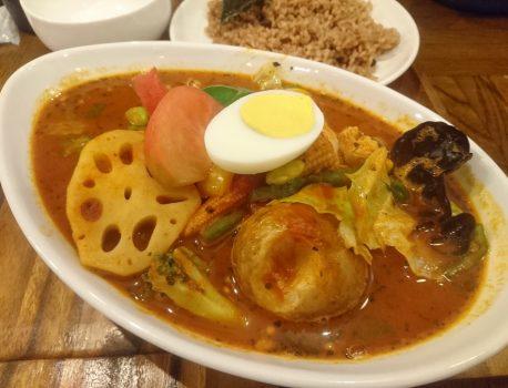 """No.041 下北沢のカレー屋 """"心"""" のスープカレーは優しい美味さ!"""