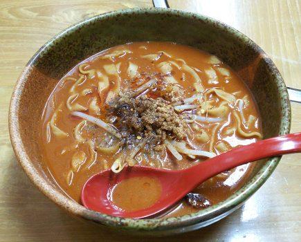 No.075 新栄にあるお店!大須たんたんめん『猛烈坦々麺』完食でご褒美ゲットなるか!?