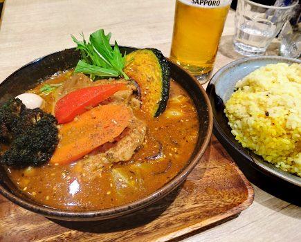 No.076 中野の Garaku のスープカレーにマジ感動!!【めちゃウマい!】