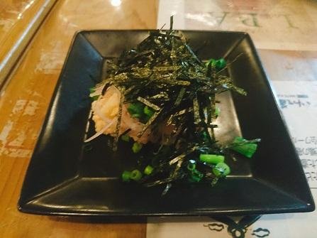 明太子のポテトサラダ ¥380