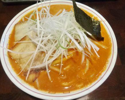 No.098 麺や 庄の 『唐辛子中華そば』は癖になる味!?