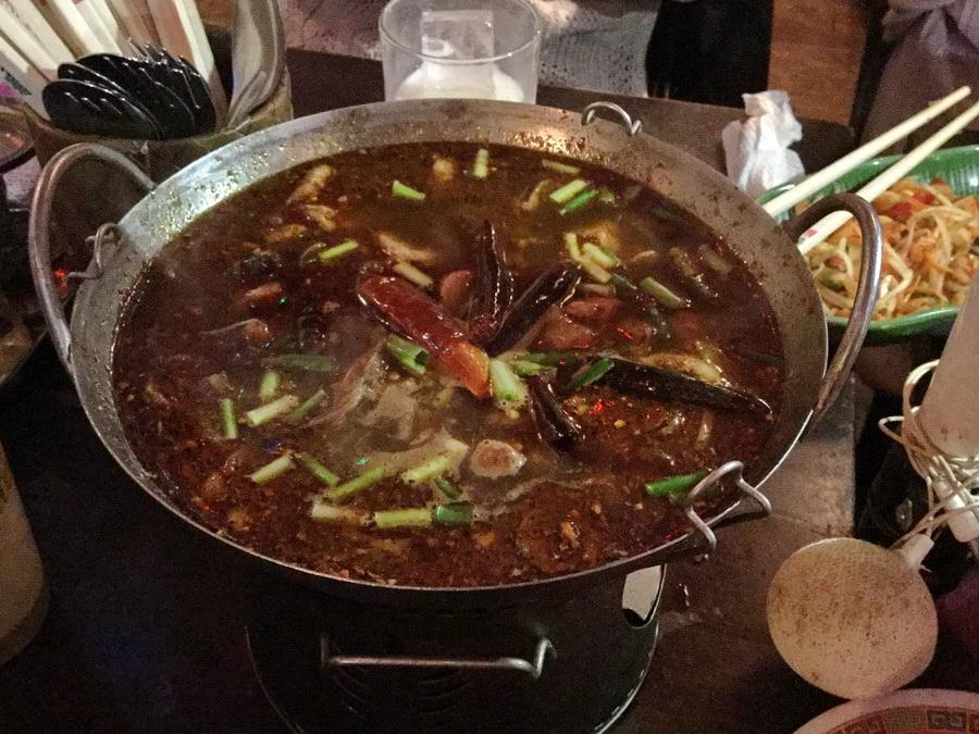 タイ北部の辛いスープ 【ヤムチム】