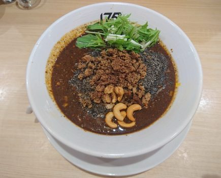 No. 126 175°DENO担担麺 を 黒ゴマ担々麺  激辛 x 3で!!