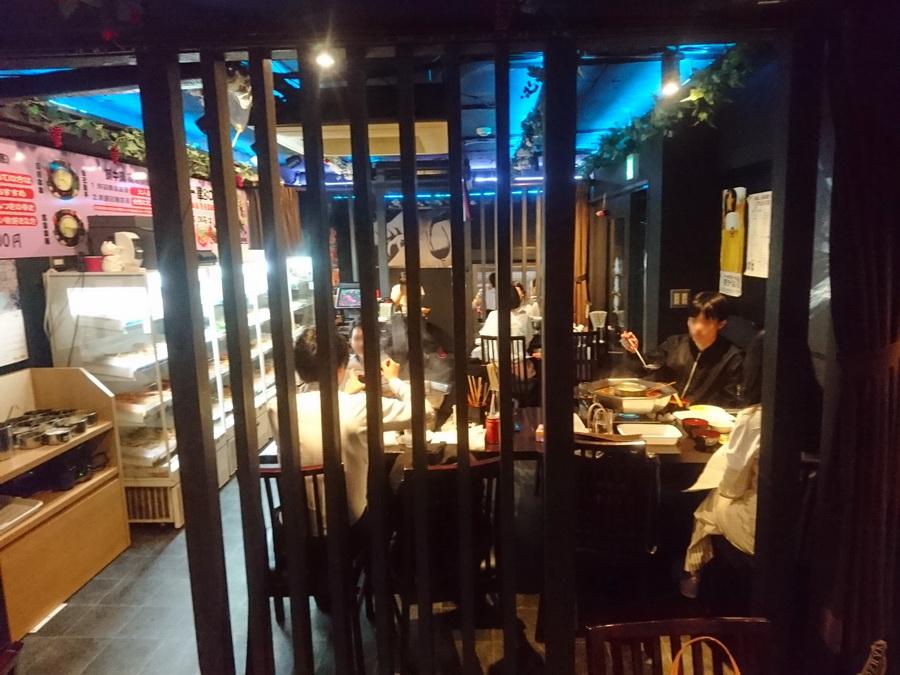 中国人のお客さんでいっぱい