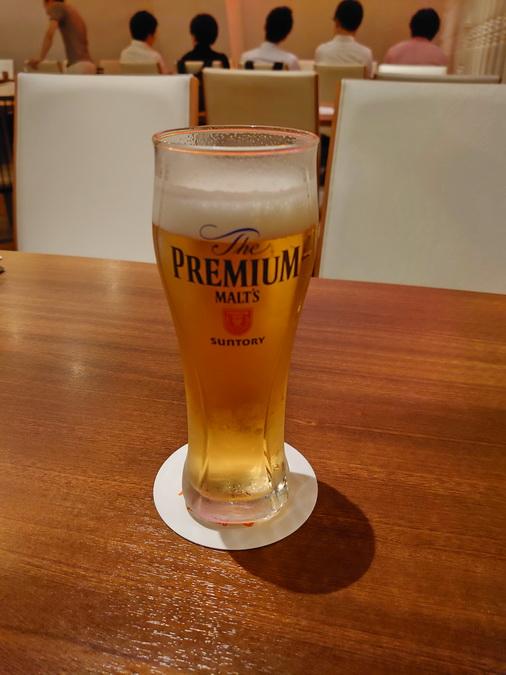 ビールが旨かった!