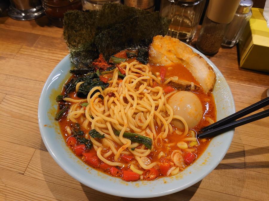 麺は中太麺でした!