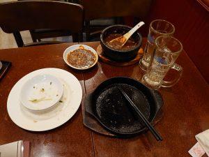 残してしまった麻婆豆腐、ごめんなさい。