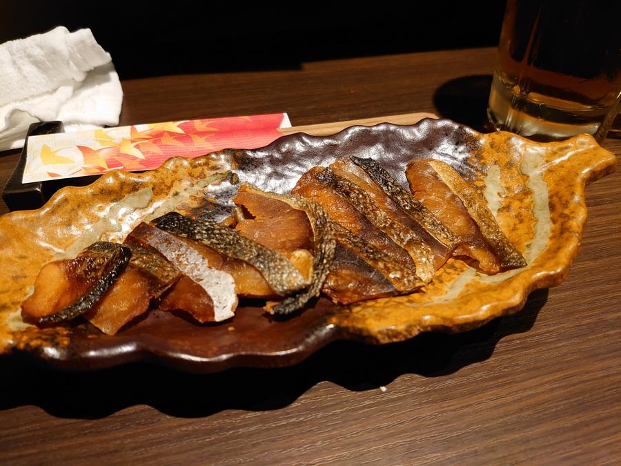 鮭とば! ときどき無性に食べたくなります^^;
