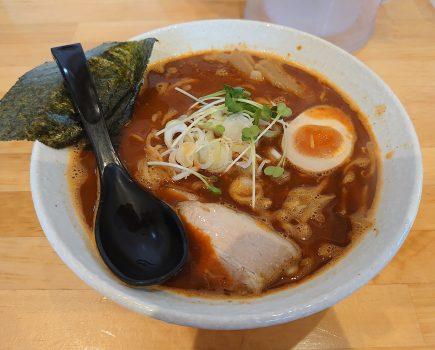 【激辛放浪記】No.205 盛岡市の麺匠 たけいちで辛魚武市の激辛300に挑戦!